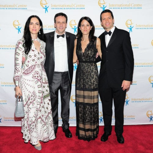 Jasmina Denner, Alex Denner, Marie-Claire Panayiotopoulos and Paris Panayiotopoulos